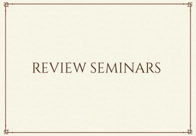 2020/21 review seminar
